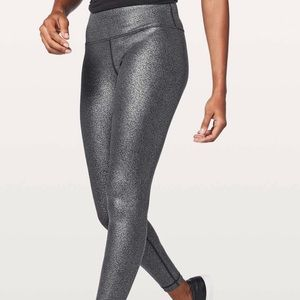 LULULEMON luminosity foil wunder under size 4 rare